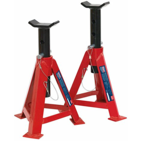 Sealey AS5000 Axle Stands 5tonne Capacity Per Stand 10tonne Per Pair