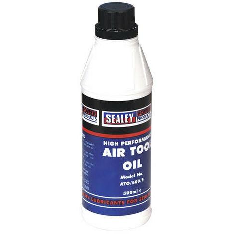 Sealey ATO500S air tool oil 500ml