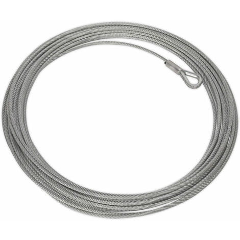 Sealey ATV2040.WR Wire Rope (Ø5.4mm x 17mtr) for ATV2040