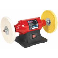Sealey BB2002 bench mounting buffer/polisher 200mm 550w/230v