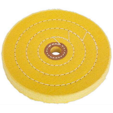 Sealey BG150BWC Buffing Wheel Ø150 x 13mm Bore Coarse