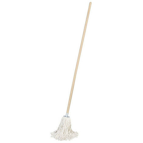 Sealey BM02 225g Pure Yarn Cotton Mop with Handle