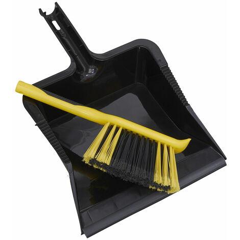 Sealey BM04HX Bulldozer Yard Dustpan & Brush Set