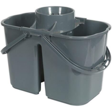 Sealey BM07 Mop Bucket 15L - 2 Compartment