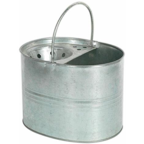 Sealey BM08 Mop Bucket 13ltr Galvanized