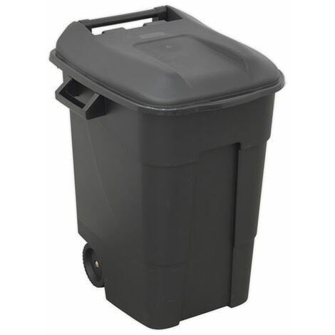 Sealey BM100 Refuse/Wheelie Bin 100L - Black