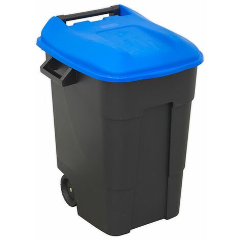 Sealey BM100B Refuse/Wheelie Bin 100L - Blue