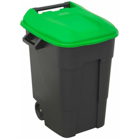 Sealey BM100G Refuse/Wheelie Bin 100L - Green