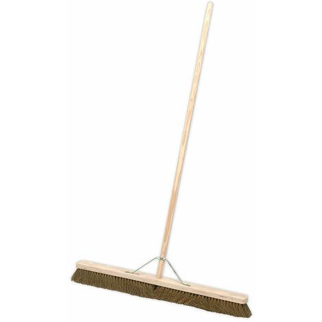 "Sealey BM36S Broom 36""(900mm) Soft Bristle"