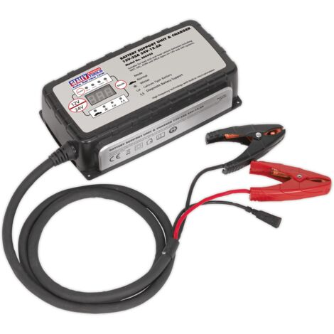 Sealey BSCU25 Battery Support Unit & Charger 12V-25A/24V-12.5A