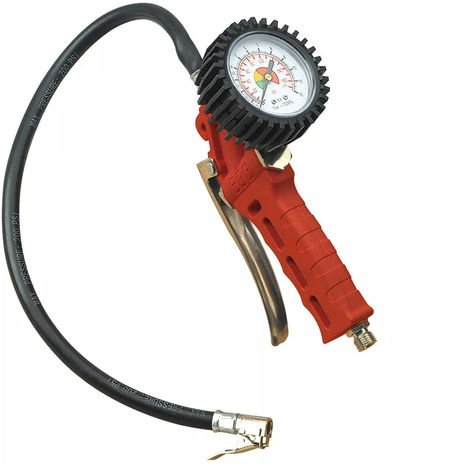 Sealey Car Van Bike Airline Tyre Inflator with Single Clip-On Connector BAR/PSI SA9302