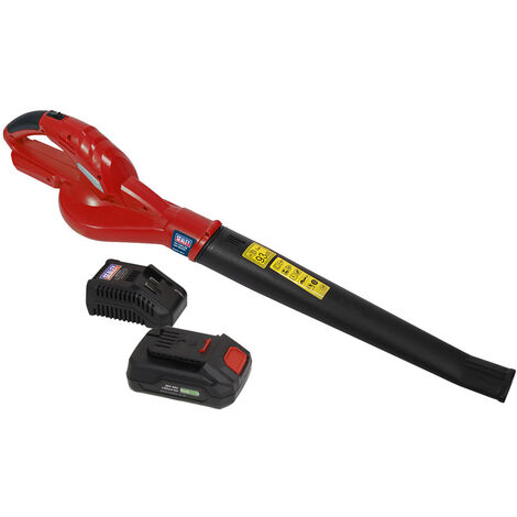 Sealey CB20VCOMBO2 Leaf Blower Cordless 20V with 2Ah Battery & Charger