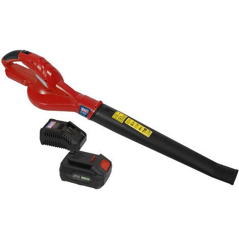 Sealey CB20VCOMBO4 Leaf Blower Cordless 20V with 4Ah Battery & Charger