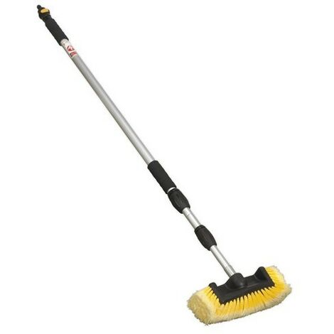 Sealey CC953 Five Sided Flo-Thru Brush with 3 Metre Telescopic Handle