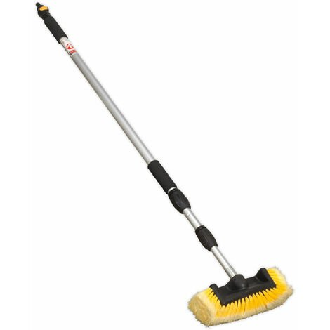 Sealey CC953 Five Sided Flo-Thru Brush with 3mtr Telescopic Handle