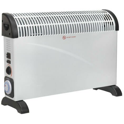 Sealey CD2005TT 2000W Convector Heater with Turbo Fan and Timer