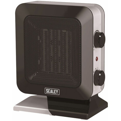 Sealey CH2013 Ceramic Fan Heater 1400W/230V 2 Heat Settings