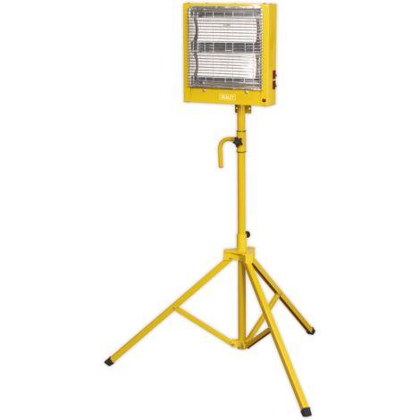 Sealey CH28110VS Ceramic Heater with Telescopic Tripod Stand 1.4/2.8kW 110V