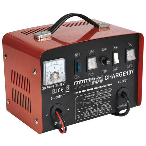 Sealey CHARGE107 11Amp 12/24V Battery Charger