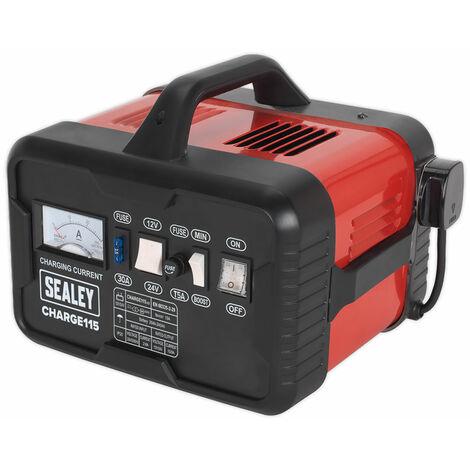 Sealey CHARGE115 Battery Charger 19Amp 12/24V 230V