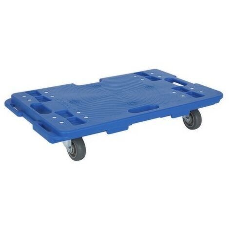 Sealey CM150 Interlocking Plastic Dolly 150kg Capacity