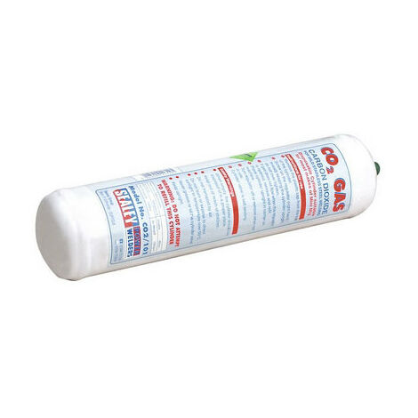 Sealey CO2/101 Disposable Carbon Dioxide Gas Cylinder 600g