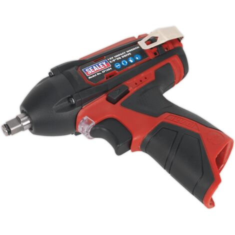 """Sealey CP1204 Cordless Impact Wrench 3/8""""Sq Drive 80Nm 12V Li-ion - Body Only"""