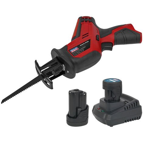 Sealey CP1208KIT Cordless Reciprocating Saw 12V with 2x Batteries