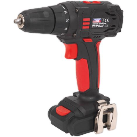 Sealey CP14VLD Cordless 10mm Drill/Driver 14.4V 1.3Ah Lithium-ion 2-Speed