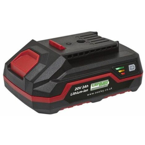 Sealey CP20VBP2 Power Tool Battery 20V 2Ah Lithium-ion for CP20V Series