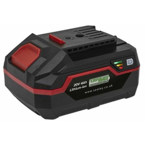 Sealey CP20VBP4 Power Tool Battery 20V 4Ah Lithium-ion for CP20V Series