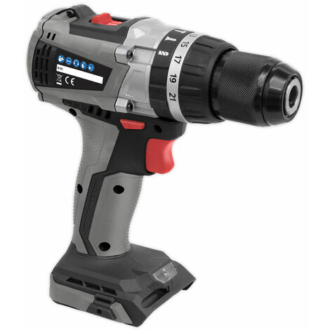 Sealey CP20VDDX Brushless Hammer Drill/Driver Ø13mm 20V - Body Only