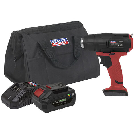 Sealey CP20VHGKIT Cordless Hot Air Gun Kit 20V