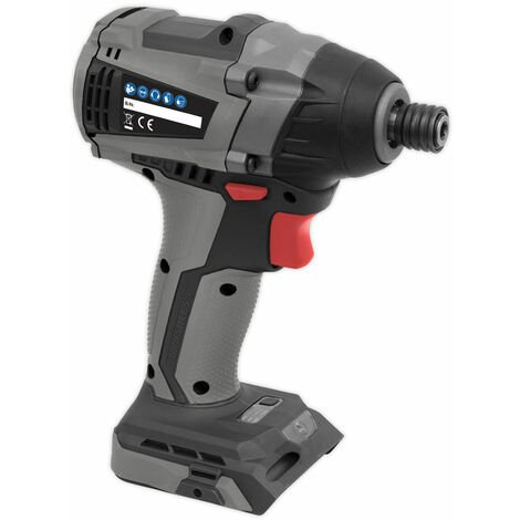 """Sealey CP20VIDX Brushless Impact Driver 20V 1/4"""" Hex 200Nm - Body Only"""