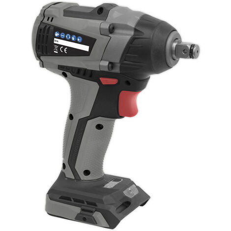 "Sealey CP20VIWX Brushless Impact Wrench 20V 1/2""Sq Drive 300Nm - Body Only"