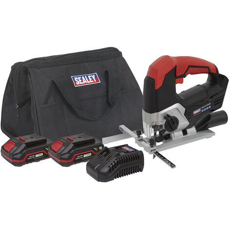 Sealey CP20VJSKIT Cordless Jigsaw Kit 20V with 2x Batteries
