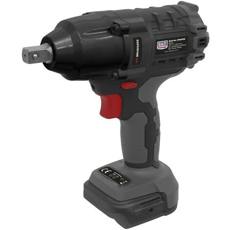 "Sealey CP20VPIW Brushless Impact Wrench 20V 1/2""Sq Drive 700Nm - Body Only"