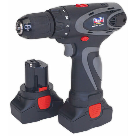 Sealey CP6004 Cordless Drill/Driver 14.4V 2Ah Li-ion 10mm 2-Speed Motor - 2 Bat