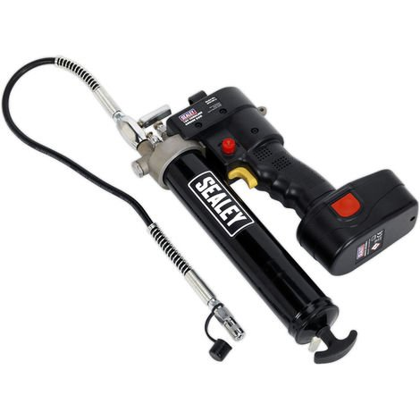 Sealey CPG18V 18V Cordless Grease Lubricant Dispenser Gun with 2.0AH Battery