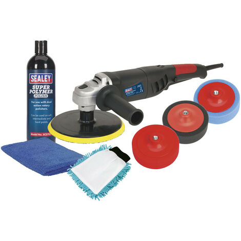 Sealey CPK03 180mm Pro Electric Polisher Kit 1100W/230V