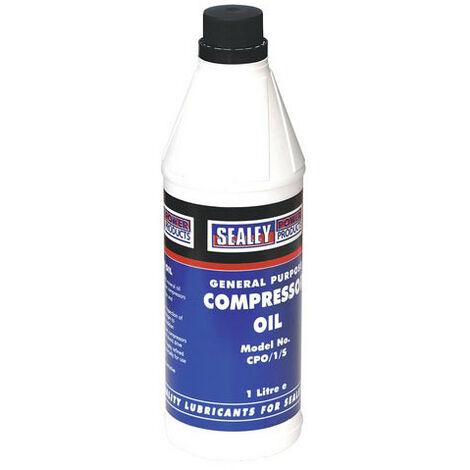 """main image of """"Sealey CPO1S 1ltr Compressor Oil"""""""