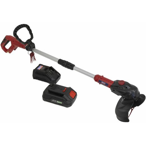 Sealey CS20VCOMBO2 Strimmer Cordless 20V with 2Ah Battery & Charger