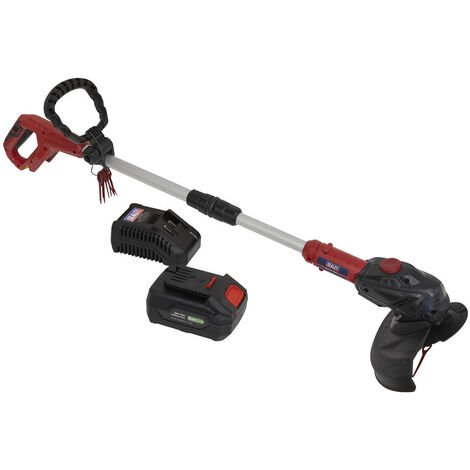 Sealey CS20VCOMBO4 Strimmer Cordless 20V with 4Ah Battery & Charger