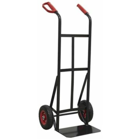 Sealey CST983HD Heavy-Duty Sack Truck with PU Tyres 200kg Capacity