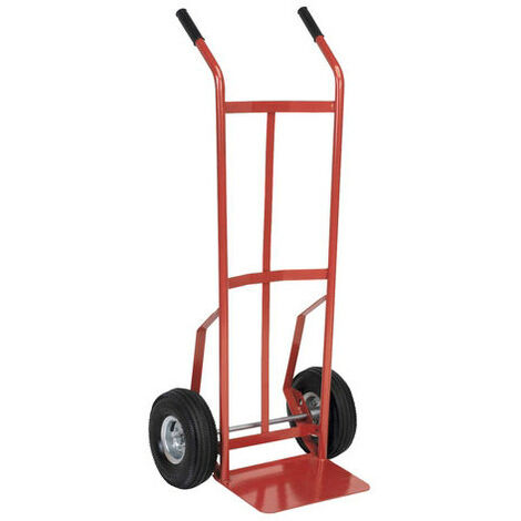 Sealey CST987 Sack Truck with 250 x 90mm Pneumatic Tyres 200kg Capacity
