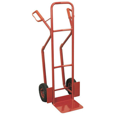 Sealey CST999 Sack Truck with Pneumatic Tyres 300kg Capacity