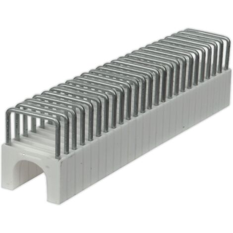 Sealey CT8125S02 Staple 9.5mm Round for CT8125 Pack of 200