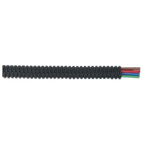 Sealey CTS0750 Convoluted Cable Sleeving Split 7-10mm 50 Metre