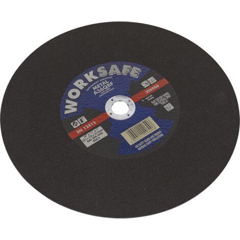 "main image of ""Sealey Cutting Disc Flat Metal Chop Saw 350 x 2.8 x 25mm"""