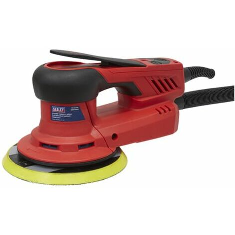 Sealey DAS150PS Electric Palm Sander Ø150mm Variable Speed 350W/230V
